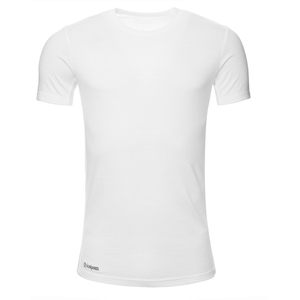 Merino Shirt Kurzarm Slimfit 200 Herren - KAIPARA - Off-White - Kaipara - Merino Sportswear