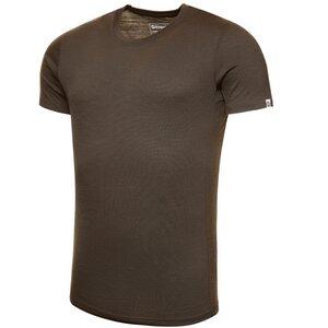 Merino Shirt Kurzarm Slimfit 150 Herren - KAIPARA - Olive - Kaipara - Merino Sportswear