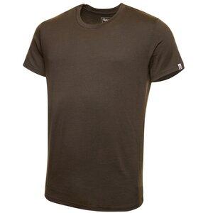 Merino Shirt Kurzarm Regularfit 200 Herren - KAIPARA - Olive - Kaipara - Merino Sportswear