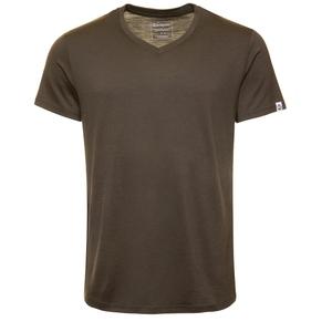 Kaipara Merino Shirt Kurzarm Regularfit V-Neck 150 - Kaipara - Merino Sportswear