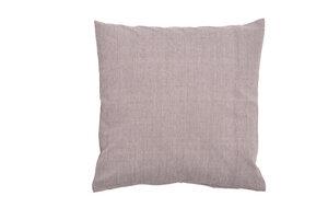 Kissenbezug hellgrau aus Bio-Baumwolle, GOTS zertifiziert - HängemattenGlück