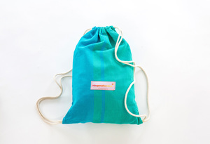 Cabrita azurblau, Hängematte für Kinder aus Bio-Baumwolle, GOTS zertifiziert - HängemattenGlück
