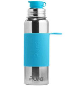 Pura Sportflasche (800 ml) mit Sleeve - Pura