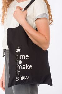 Beutel # time to make it slow  - jas. slow fashion