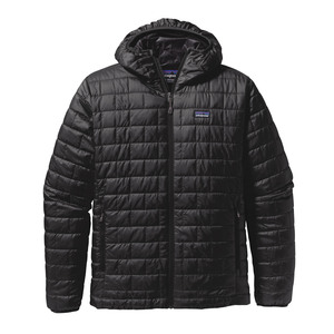 M's Nano Puff Hoody - Regular Fit - Black  - Patagonia