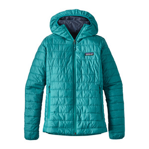 W's Nano Puff Hoody - Regular Fit - Elwha Blue - Patagonia