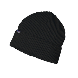 Fishermans Rolled Beanie - Black  - Patagonia