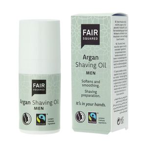 Fair Squared Shaving Oil Men Argan 15ml - Fair Squared