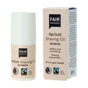Fair Squared Shaving Oil Women Apricot 15ml - Fair Squared
