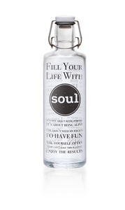 soulbottle 1,0l 'Fill your Life with Soul' - soulbottles