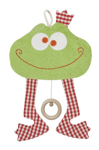 Efie Spieluhr Frosch, kbA (organic), Made in Germany - Efie