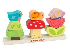 Le toy van - Petilou Steckgarten - Steckspiel aus Holz - Le toy van