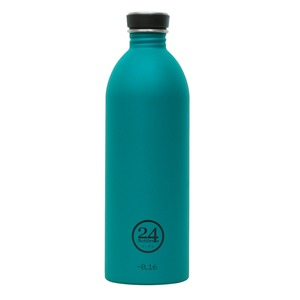 1l Edelstahl Trinkflasche Atlantic Bay - 24bottles