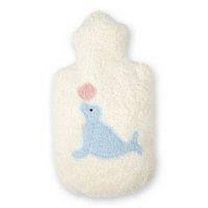 Efie Wärmflasche mit Seehund Applikation, kbA (organic) - Efie