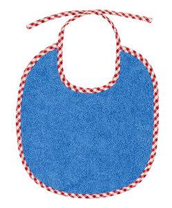 Efie Lätzchen groß blau, kbA (organic), Made in Germany - Efie