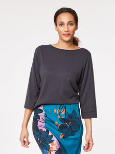 JEANETTE TOP - Pewter - Thought | Braintree