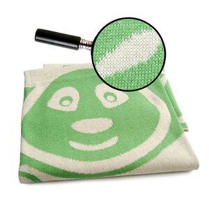 Pandabär Decke aus zertifizierter Bio-Baumwolle - Sonnenstrick