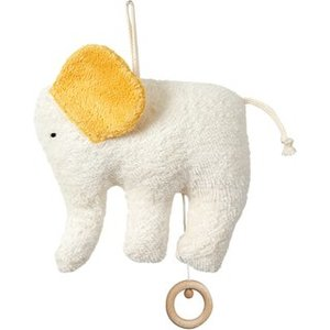 Efie Spieluhr Elefant, kbA (organic), Made in Germany - Efie