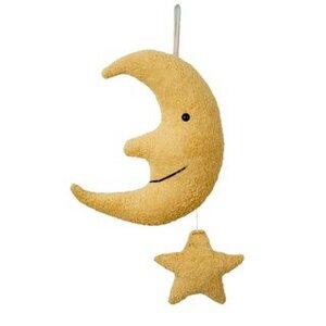 Efie Spieluhr Mond mit Stern, kbA (organic), Made in Germany - Efie