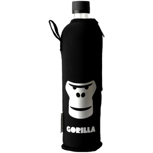 Gorilla Glaschflasche mit Anzug - Dora