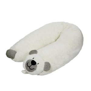Efie Bezug Stillkissen Teddy grau, kbA (organic), Made in Germany - Efie