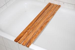 """Badewannenablage """"klassik"""" ca 75cm aus Olivenholz - Olivenholz erleben"""