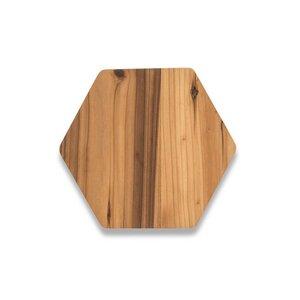 Kleines Servierbrett aus recycelten Zedernholz - Bambu