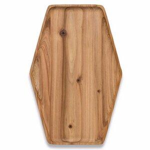 Servierbrett aus Recyceltes Zedernholz groß - Bambu