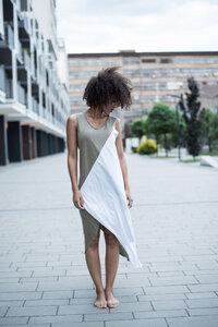 Kleid Triangle Organic White - KOKOworld