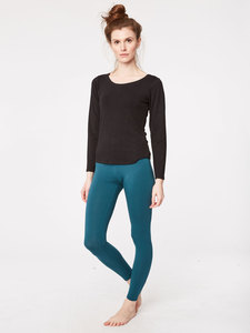 BASE LAYER LEGGINGS - Emerald - Thought | Braintree