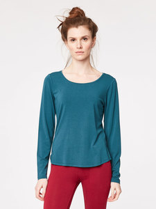BASE LAYER TEE - Emerald - Thought | Braintree