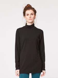 BASE LAYER ROLL NECK - Black - Thought | Braintree