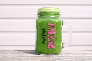 Charger Jar 'But first...Smoothie' - Basic - Charger Jar
