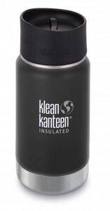 Trinkflasche Klean Kanteen Wide Vakuum isoliert 355ml mit Cafe Cap 2.0 - Klean Kanteen