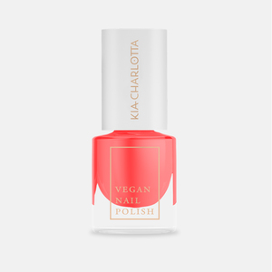 Veganer Nagellack ›A WILDFLOWER‹ A Coral Pink - Kia-Charlotta