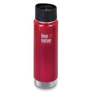 Trinkflasche Klean Kanteen Wide Vakuum isoliert 592ml mit Cafe Cap 2.0 - Klean Kanteen
