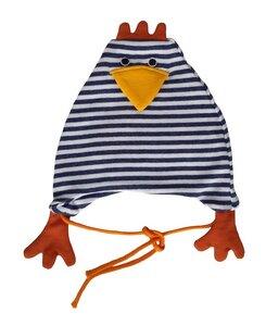 Baby und Kinder Hühnchen-Mütze  kbA Baumwolle Lana - Lana naturalwear