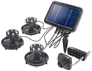 "esotec ""Splash"" Solar-LED-Unterwasserstrahler - esotec"