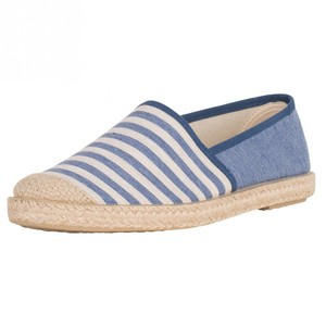 Evita Plain Blue Stripes - Grand Step