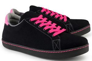 Soft Sneaker schwarz/pink - Eco Vegan Shoes