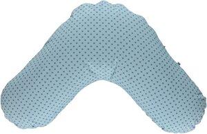 Stillkissenhülle blau GOTS zertifiziert - Smafolk