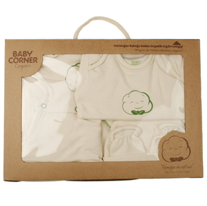 Geschenkset für Babys zur Geburt GOTS zertifiziert  - babycorner