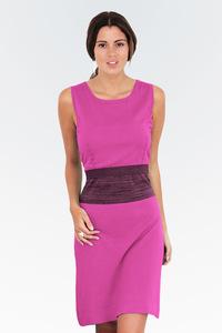 violett pinkes Stillkleid aus Biobaumwolle - milker nursing