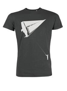 Herren T-Shirt Drachenboot in graphit - ilovemixtapes