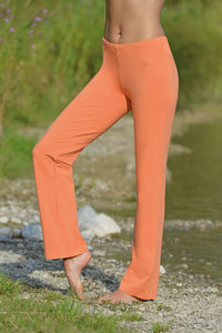 Wellnesshose f. Damen & Herren Orange - The Spirit of OM