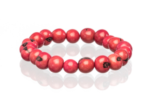 Acai Beeren Armband coral - Bea Mely