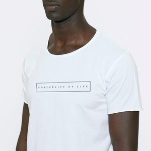 T-Shirt aus Bio-Baumwolle Cap de Barbaria UoL White - Bohemian Heads