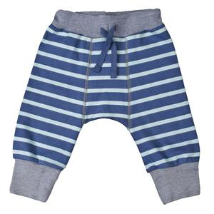 Babyhose - blau geringelt - People Wear Organic