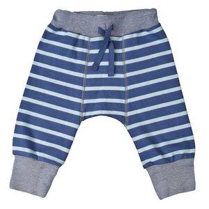 Babyhose - blau geringelt - People Wear Organic