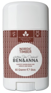 Deodorant Stick, Nordic Timber - Ben&Anna